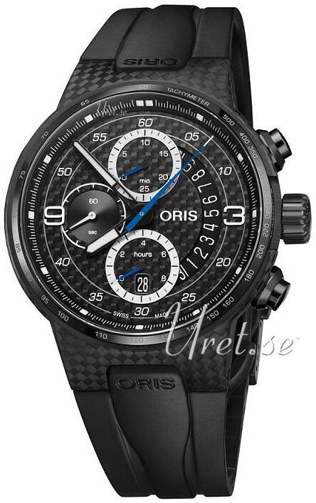 e366a403b Oris Motor Sport Black/Rubber Ø44 mm ref. 01 774 7725 8794-Set RS