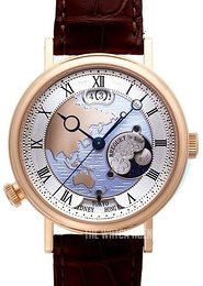 Breguet Classique Silver colored/Leather Ø44 mm 5717BR-AS-9ZU
