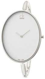 Calvin Klein Sartorially White/Steel Ø32.85 mm K3D2S116