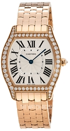 Cartier Tortue Silver colored/18 carat rose gold WA501012