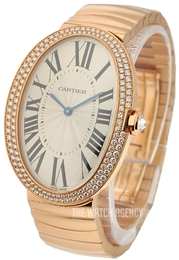Cartier Baignoire Silver colored/18 carat rose gold Ø34.07 mm WB520003