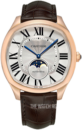Cartier Drive De Cartier Silver colored/Leather WGNM0008