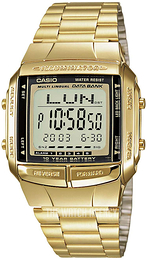 Casio Casio Collection Yellow gold toned steel 43.1x37.7 mm DB-360GN-9AEF