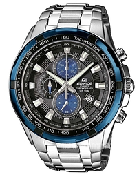 Casio Edifice Black/Steel Ø48.5 mm EF-539D-1A2VEF