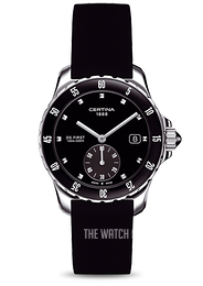 Certina DS First Lady Ceramic Small Second Black/Rubber Ø34.8 mm C014.235.17.051.00