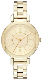 DKNY Dress Yellow gold toned/Yellow gold toned steel Ø34 mm NY2583