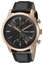 Fossil Townsman Grey/Leather Ø48 mm FS5097
