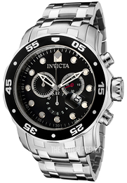 Invicta Pro Diver Black/Steel Ø48 mm 0069