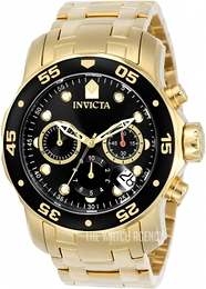 Invicta Pro Diver Black/Steel Ø48 mm 0072