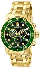 Invicta Pro Diver Green/Steel Ø48 mm 0075