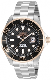 Invicta Pro Diver Black/Steel Ø47 mm 12567