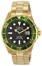 Invicta Pro Diver Black/Yellow gold toned steel Ø47 mm 14358