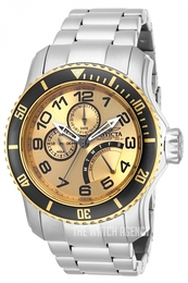 Invicta Pro Diver Yellow gold toned/Steel Ø48.8 mm 15337