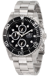 Invicta Pro Diver Black/Steel Ø44 mm 1768