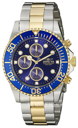 Invicta Pro Diver Blue/Gold toned steel Ø43 mm 1773