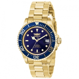 Invicta Pro Diver Blue/Yellow gold toned steel Ø40 mm 8930OB
