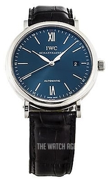 IWC Portofino Blue/Leather Ø40 mm IW356512