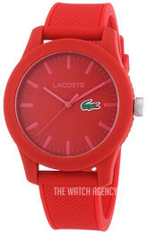 Lacoste 12.12 Red/Rubber Ø43 mm 2010764