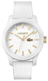 Lacoste 12.12 White/Rubber Ø43 mm 2010819