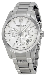 Longines Conquest Silver colored/Steel Ø41 mm L2.786.4.76.6