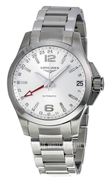 Longines Conquest Silver colored/Steel Ø41 mm L3.687.4.76.6