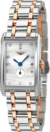 Longines Dolcevita White/18 carat rose gold L5.255.5.87.7