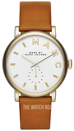 Marc by Marc Jacobs White/Leather Ø36 mm MBM1316