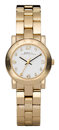 Marc by Marc Jacobs Amy White/Yellow gold toned steel Ø26 mm MBM3057