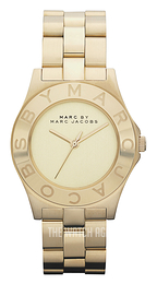 Marc by Marc Jacobs Blade Yellow gold toned/Yellow gold toned steel Ø36.5 mm MBM3126