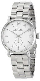 Marc by Marc Jacobs Baker White/Steel Ø36.5 mm MBM3242