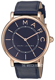 Marc by Marc Jacobs Blue/Leather Ø36 mm MJ1534