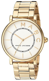 Marc by Marc Jacobs White/Yellow gold toned steel Ø36 mm MJ3522