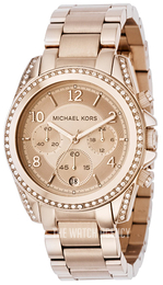 Michael Kors Blair Rose gold colored/Rose gold colored steel Ø39 mm MK5263