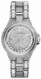 Michael Kors Camille Crystal set/Steel Ø33 mm MK5947