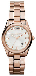 Michael Kors Colette Silver colored/Rose gold colored steel MK6052