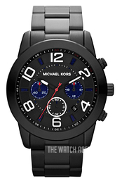 Michael Kors Mercer Black/Plastic Ø46 mm MK8291