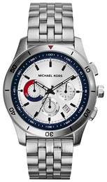 Michael Kors Outrigger Silver colored/Steel Ø43 mm MK8373