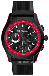 Michael Kors Outrigger Black/Rubber Ø43 mm MK8376