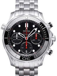 Omega Seamaster Diver 300m Co-Axial Chronograph 41.5mm Black/Steel Ø41.5 mm 212.30.42.50.01.001