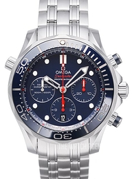 Omega Seamaster Diver 300m Co-Axial Chronograph 44mm Blue/Steel Ø44 mm 212.30.44.50.03.001