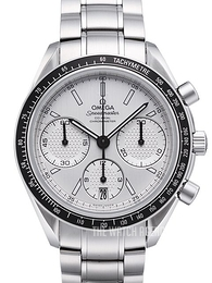 Omega Speedmaster Racing Co-Axial Chronograph 40mm White/Steel Ø40 mm 326.30.40.50.02.001