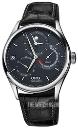 Oris Culture Blue/Leather Ø43 mm 01 112 7726 4055-Set 1 23 72FC