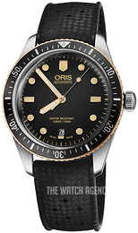Oris Diving Black/Rubber Ø40 mm 01 733 7707 4354-07 4 20 18
