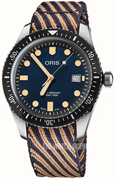 Oris Diving Blue/Textile Ø42 mm 01 733 7720 4035-07 5 21 13