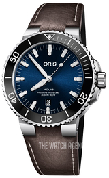 Oris Diving Blue/Leather Ø43.5 mm 01 733 7730 4135-07 5 24 10EB