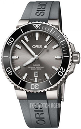 Oris Diving Grey/Rubber Ø43.5 mm 01 733 7730 7153-07 4 24 63TEB