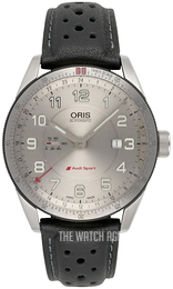 Oris Motor Sport Silver colored/Leather Ø44 mm 01 747 7701 4461-07 5 22 87FCS