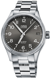 Oris Aviation Grey/Steel Ø41 mm 01 751 7697 4063-07 8 20 19