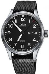 Oris Oris Aviation Black/Textile Ø45 mm 01 752 7698 4164-07 5 22 15FC