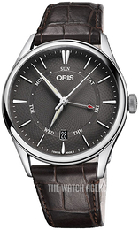 Oris Culture Grey/Leather Ø40 mm 01 755 7742 4053-07 5 21 65FC